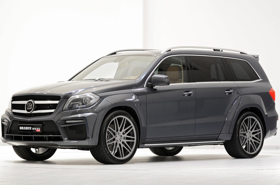 Mercedes Benz GL63 AMG and ML63 AMG tuned by Brabus