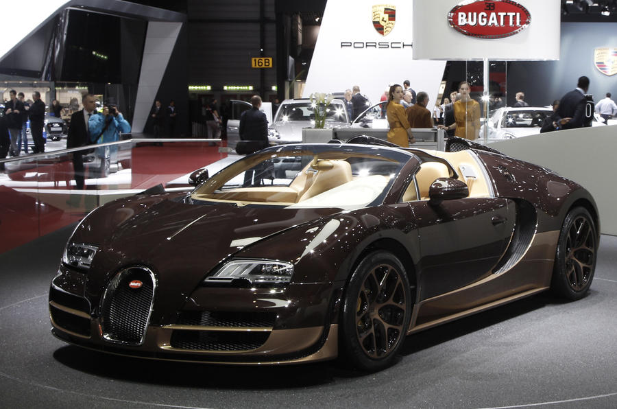 New Bugatti Veyron Legend revealed