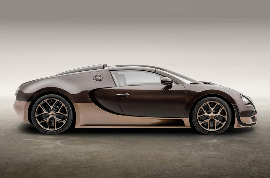 New Bugatti Veyron Legend car celebrates founder's brother