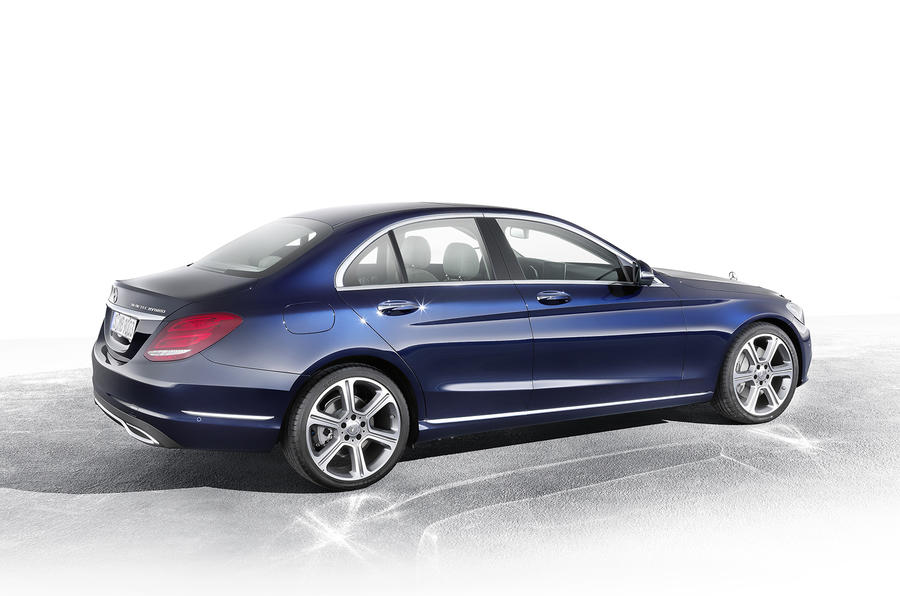 New Mercedes C-class saves weight with tiny fuel tank
