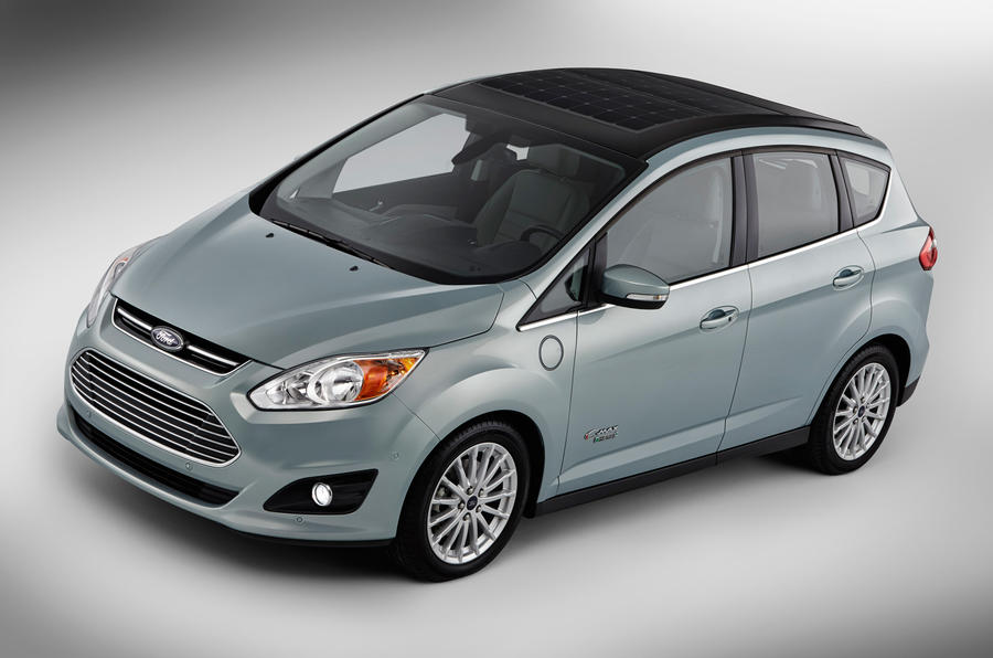 Solar power for Ford C-Max hybrid concept