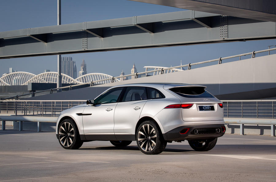 Jaguar C-X17 first drive review