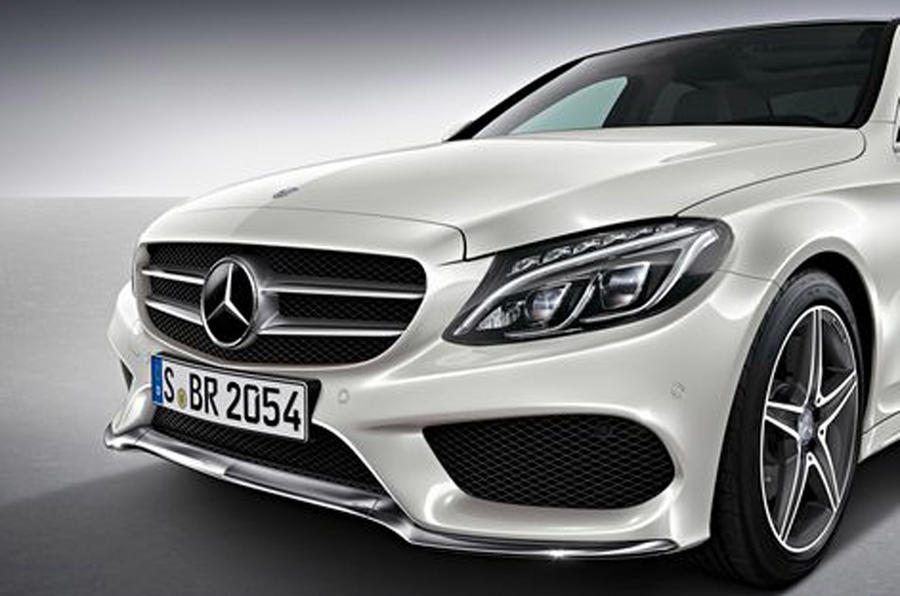New Mercedes-Benz C-class AMG Line details revealed