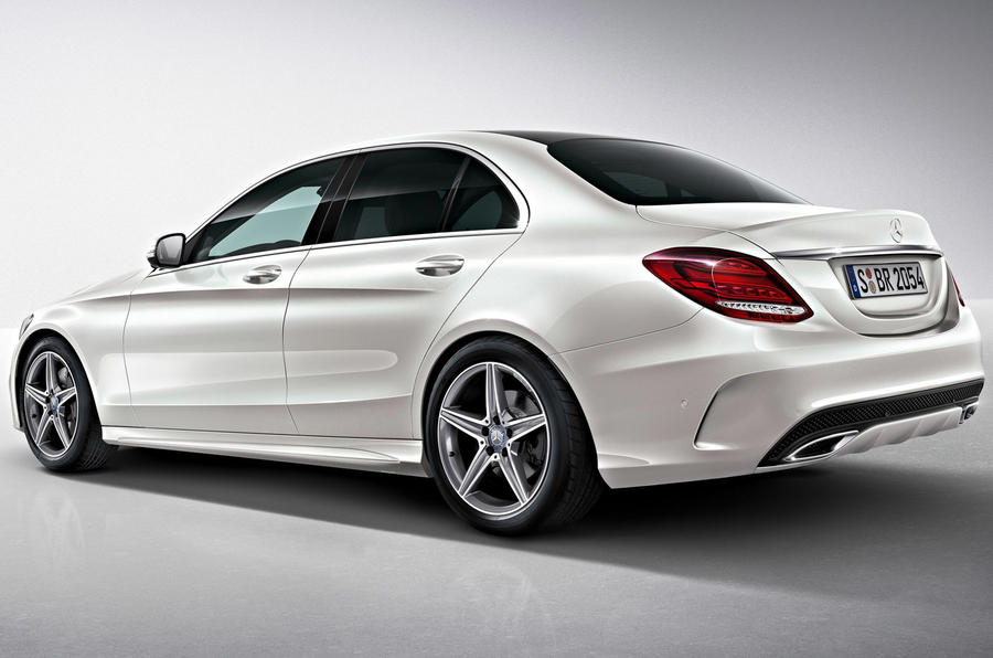 new mercedes benz c class amg line details revealed autocar. Black Bedroom Furniture Sets. Home Design Ideas