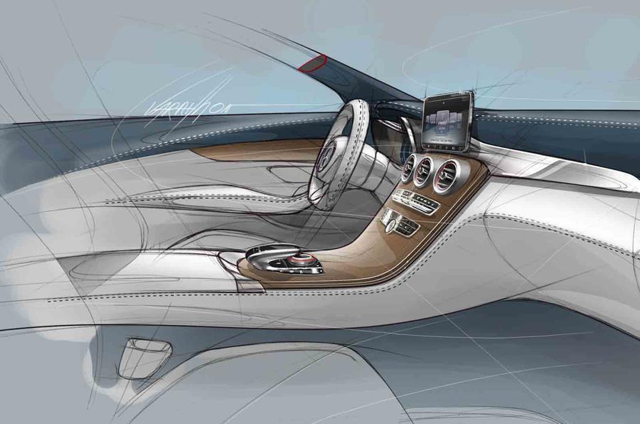 Mercedes-Benz C-class first details revealed