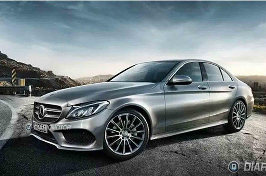 New Mercedes C-class shown in leaked pictures