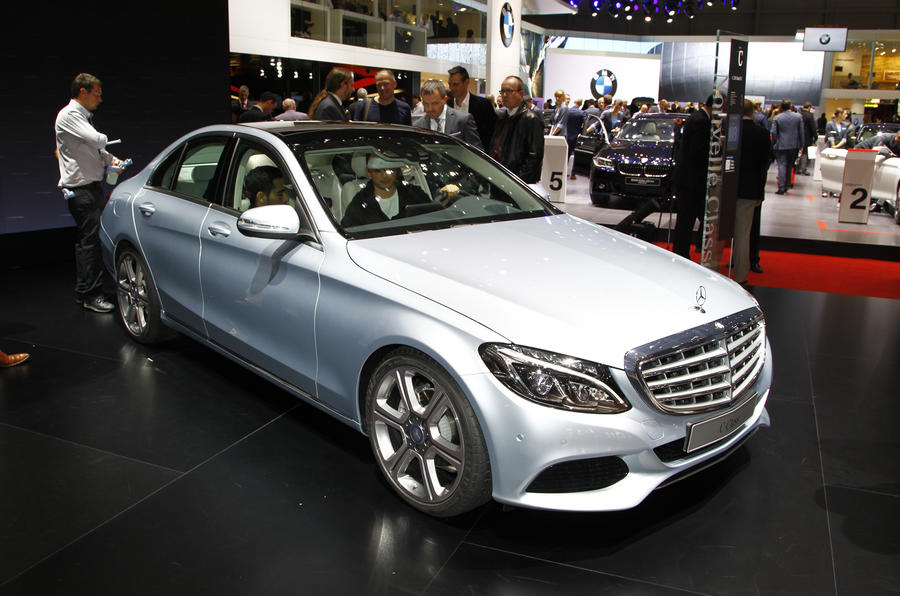 No 3-cyl engines for big Mercedes models