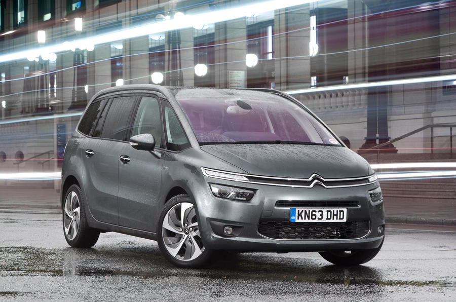 citroen grand c4 picasso review 2018 autocar. Black Bedroom Furniture Sets. Home Design Ideas