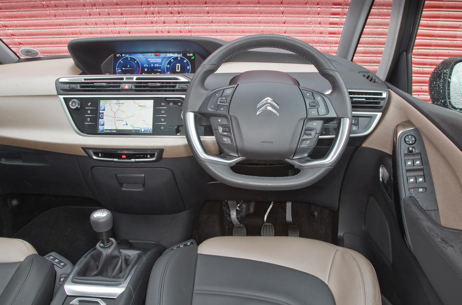 Citroën Grand C4 Picasso interior