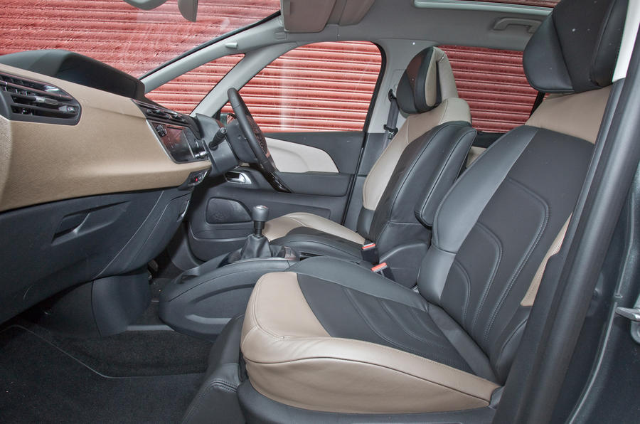 Grand C4 Picasso front seats