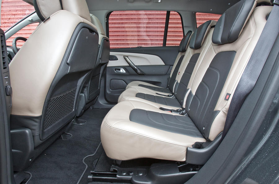 Grand C4 Picasso middle row seats