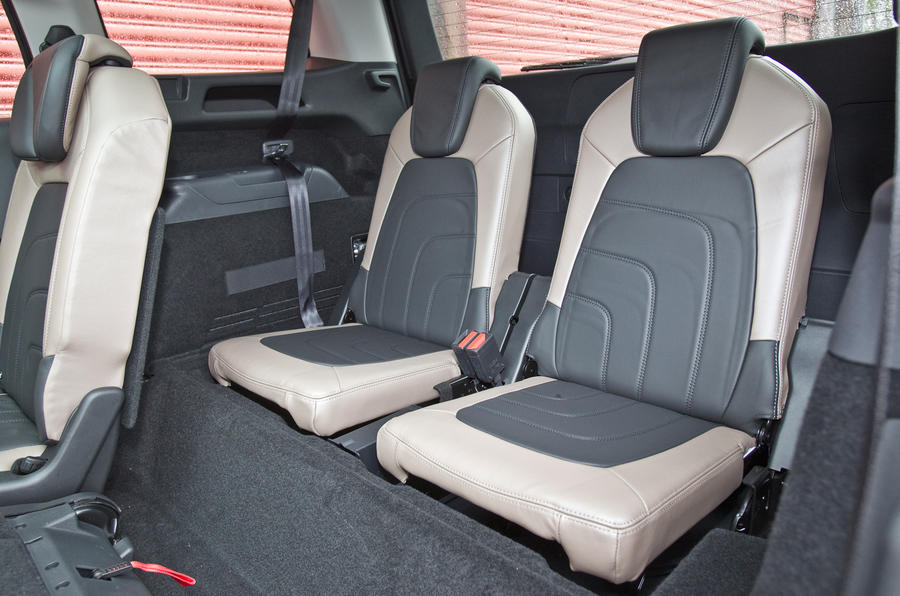 Citroën Grand C4 Picasso third row seats