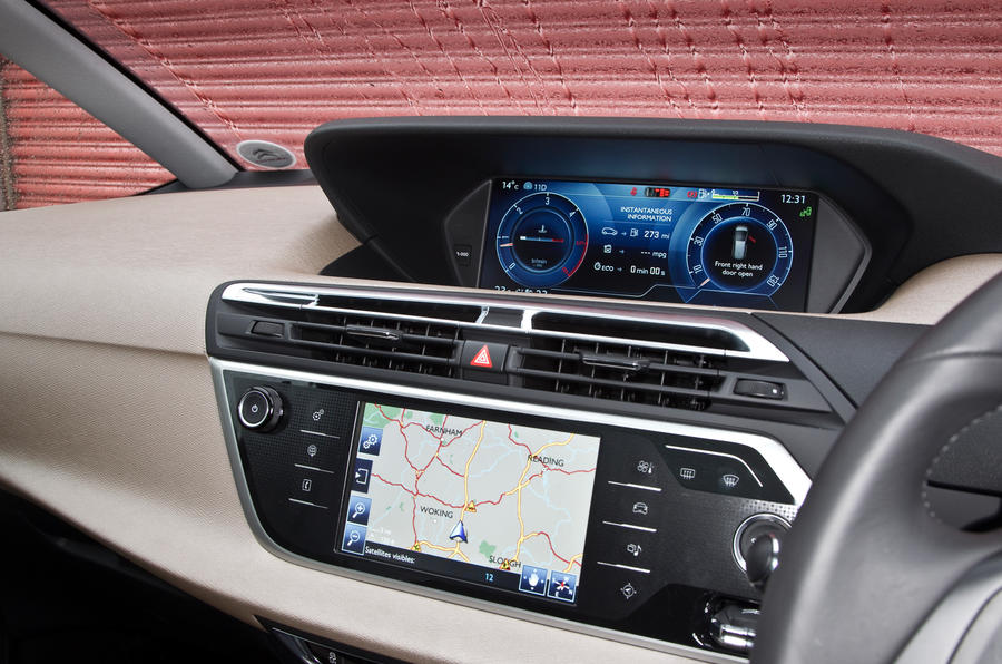 Grand C4 Picasso infotainment system