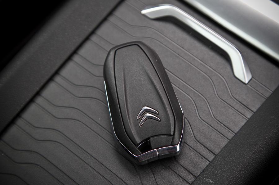 Citroën Grand C4 Picasso key