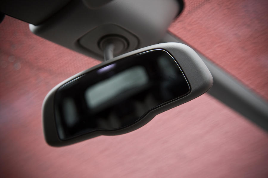 Grand C4 Picasso rearview mirror