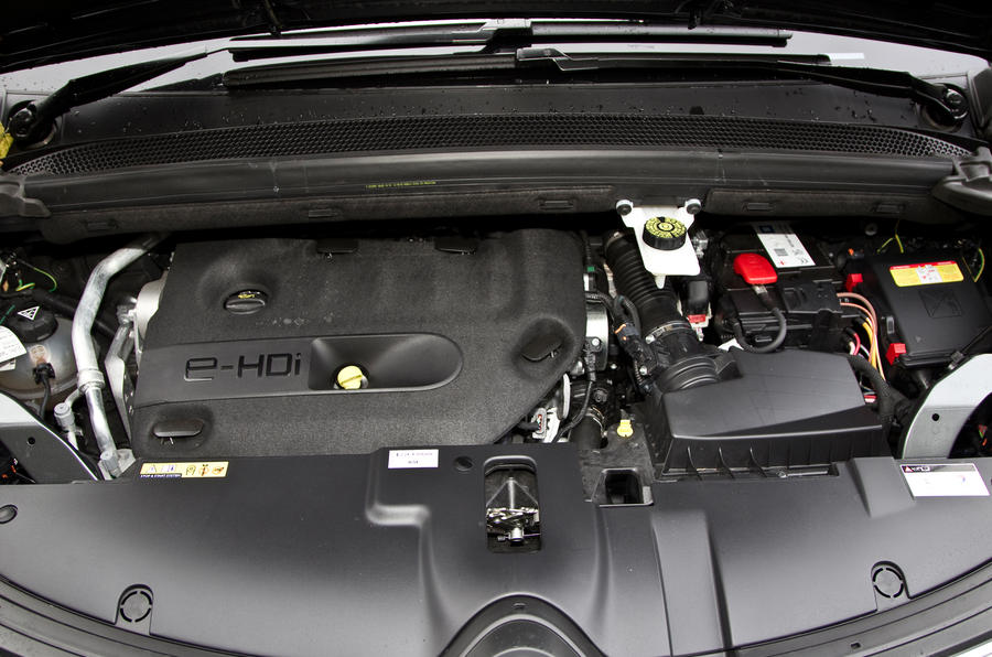 1.6-litre Grand C4 Picasso engine
