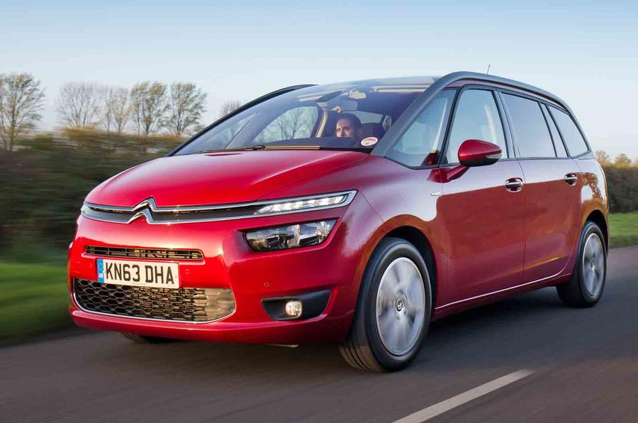 citroen grand c4 picasso exclusive e hdi 115 first drive. Black Bedroom Furniture Sets. Home Design Ideas