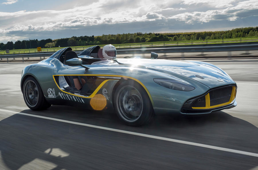 Limited-run Aston Martin CC100 sells out