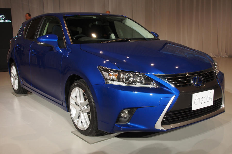 Big makeover for hybrid Lexus CT200h