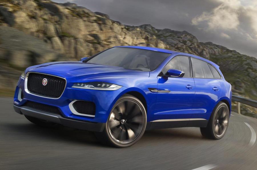 official jaguar c x17 suv revealed autocar. Black Bedroom Furniture Sets. Home Design Ideas