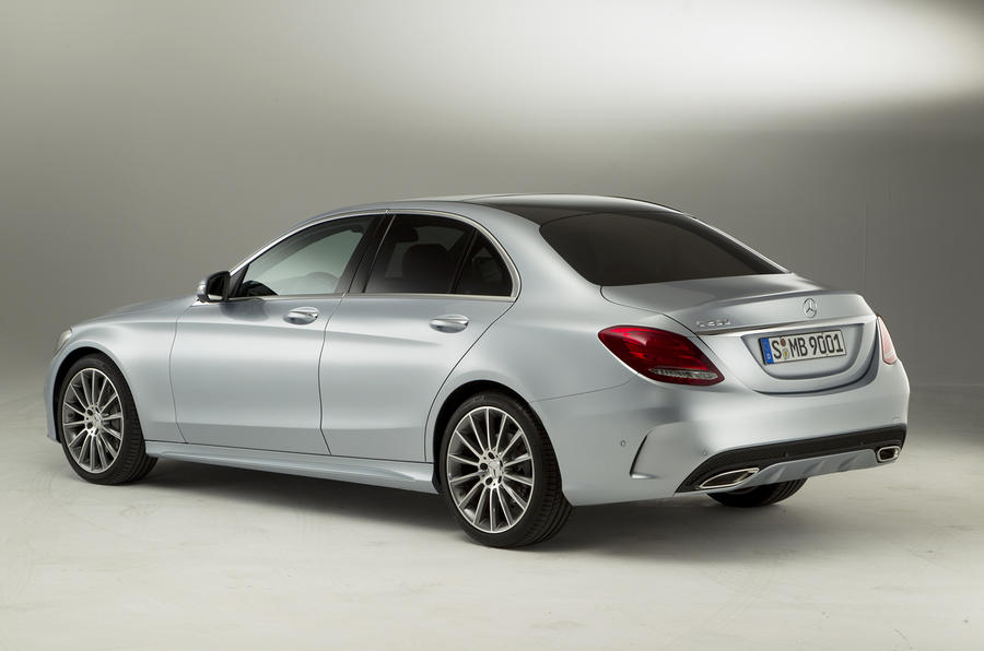 Exclusive Mercedes C-class studio pictures