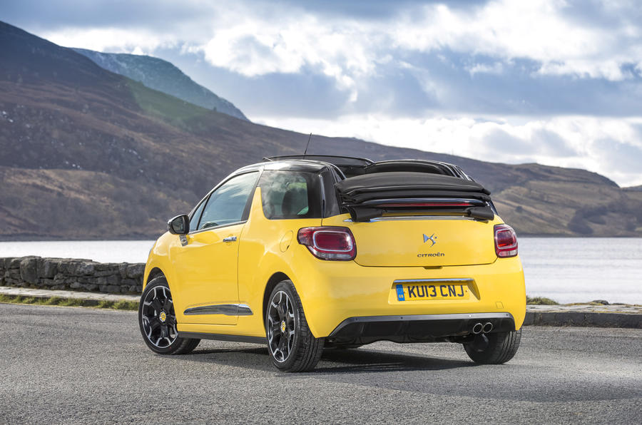 Citroën DS3 Cabrio DSport THP 155 first drive review