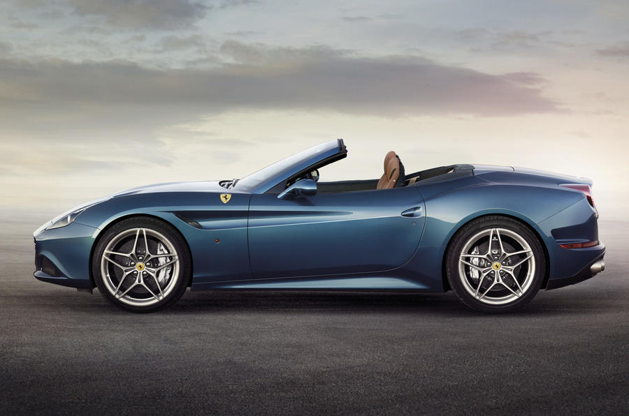 New Ferrari California T revealed