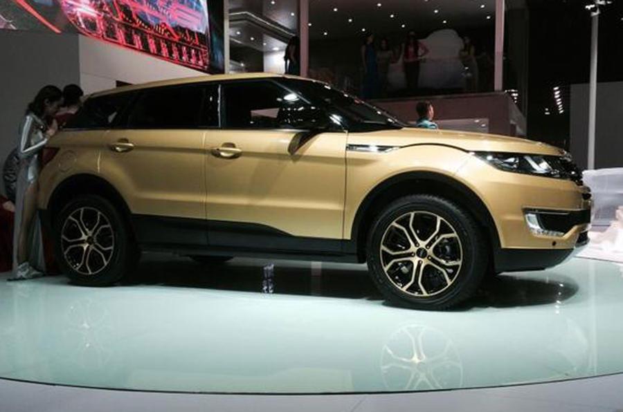 Chinese Range Rover Evoque revealed