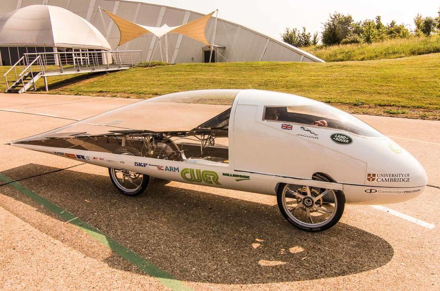 British solar-powered racer unveiled