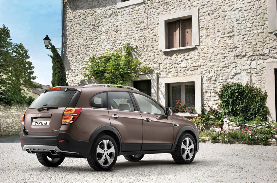 Redesigned Chevrolet Captiva now available to order