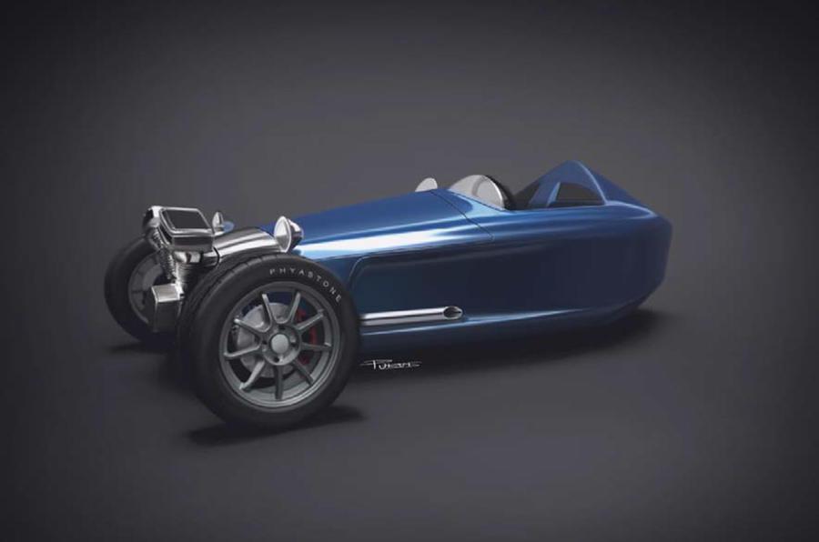 Castle three-wheeler to re-ignite Morgan rivalry