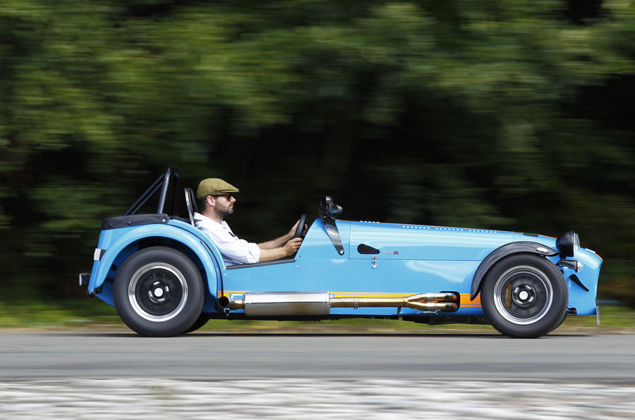Six-speed Caterham Seven 620R