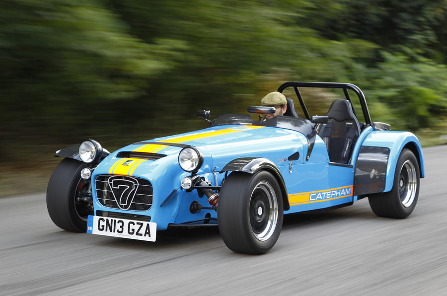 The 310bhp Caterham Seven 620R