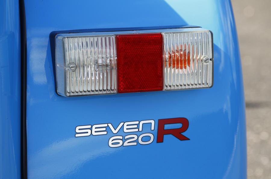 Caterham 620R taillights