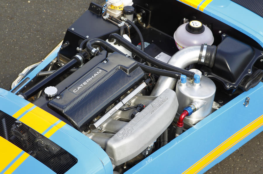 Caterham 620R 2.0-litre Duratec engine