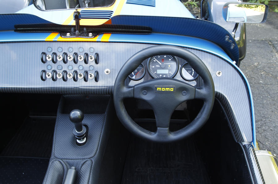 Caterham 620R dashboard