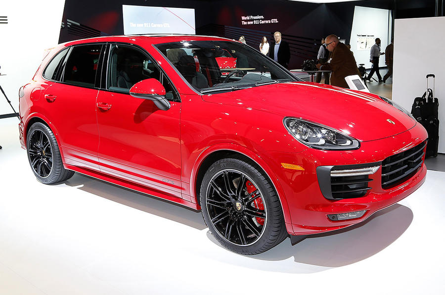 Porsche reveals new Cayenne GTS in LA