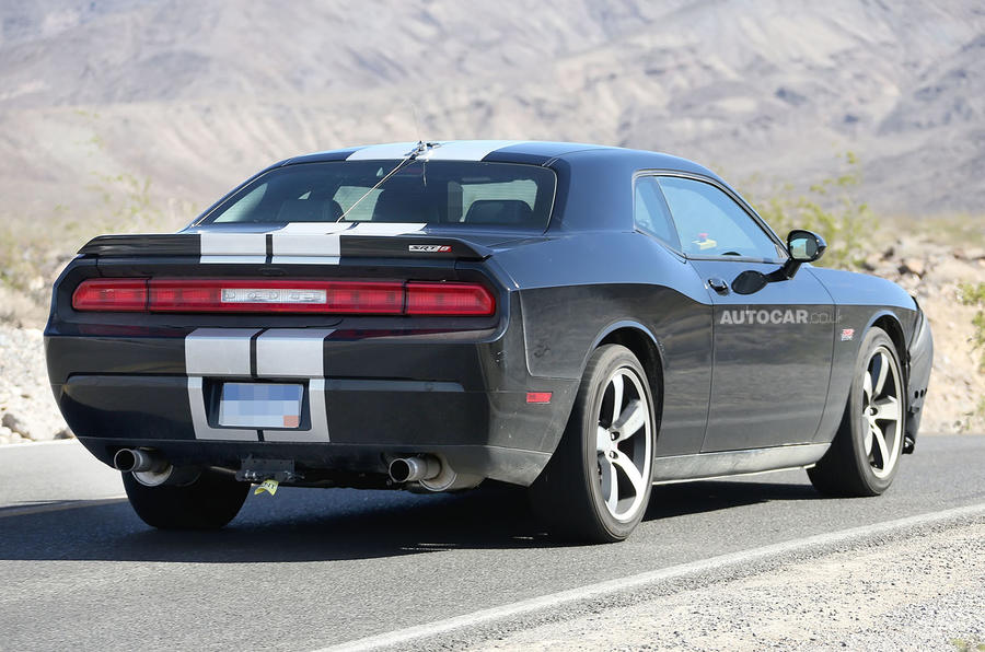 New 600-plus bhp 2015 Dodge Challenger SRT8 spotted