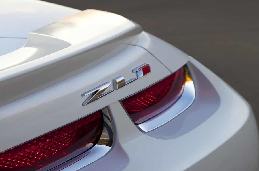 Chevrolet Camaro ZL1 tailight