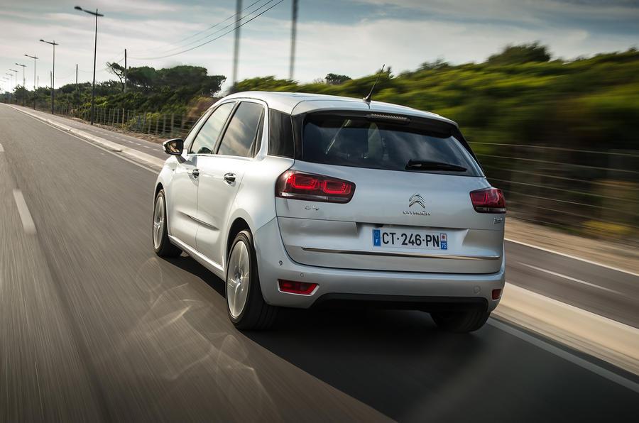 Citroën C4 PIcasso rear end