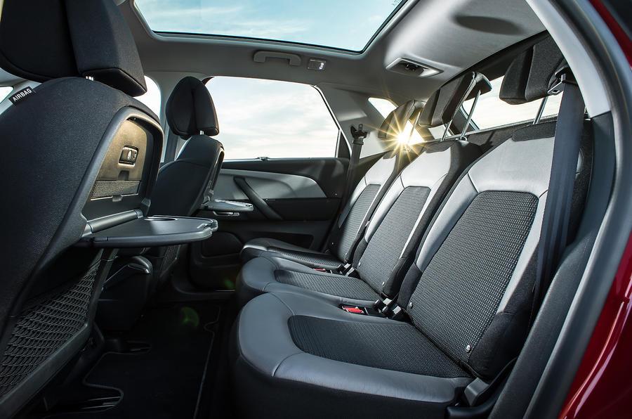 Citroën C4 Picasso rear seats