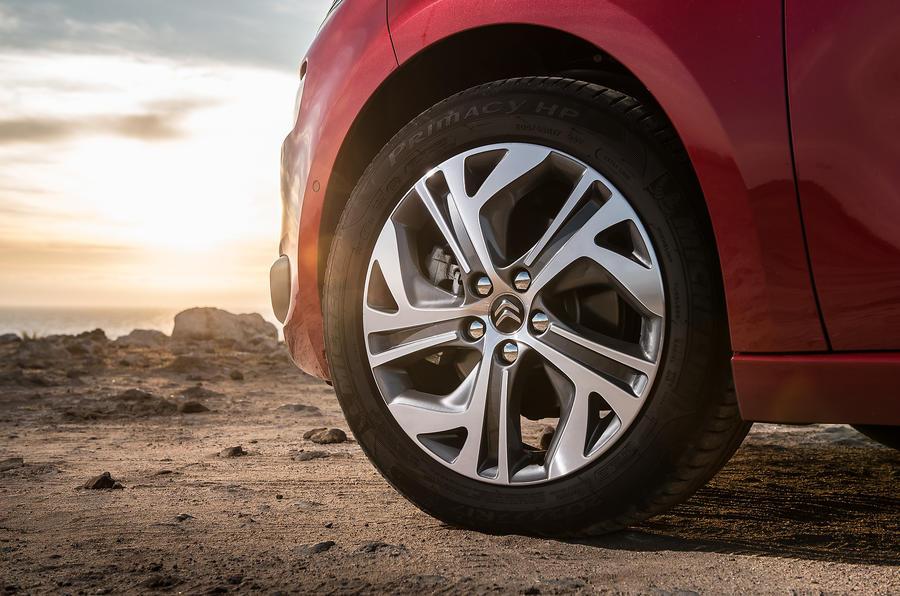 Citroën C4 Picasso alloy wheels