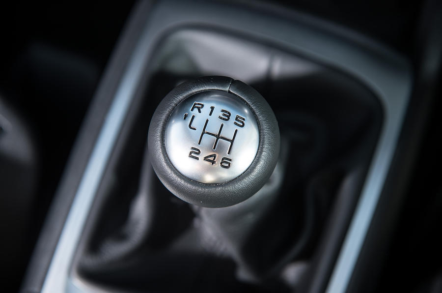 Citroën C4 Picasso manual gearbox