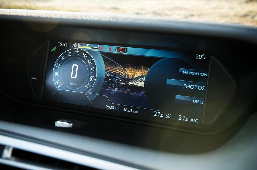 Citroën C4 PIcasso infotainment