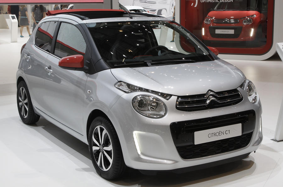 New Citroën C1 gets Geneva debut