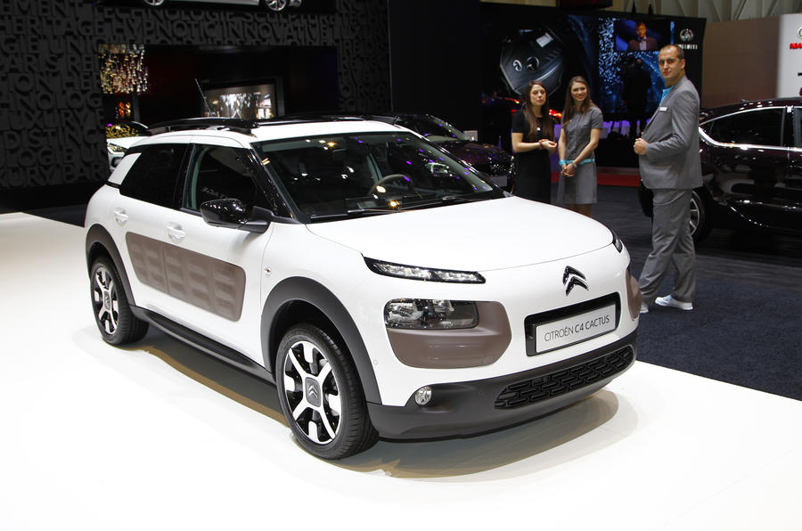 Citroën C4 Cactus gets Geneva debut