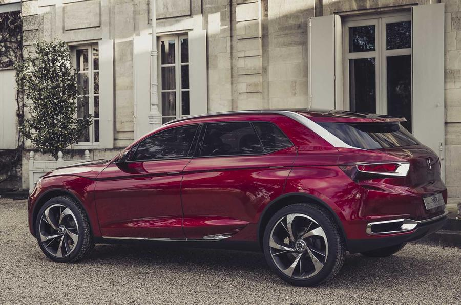 New Citroën Wild Rubis concept previews luxury SUV