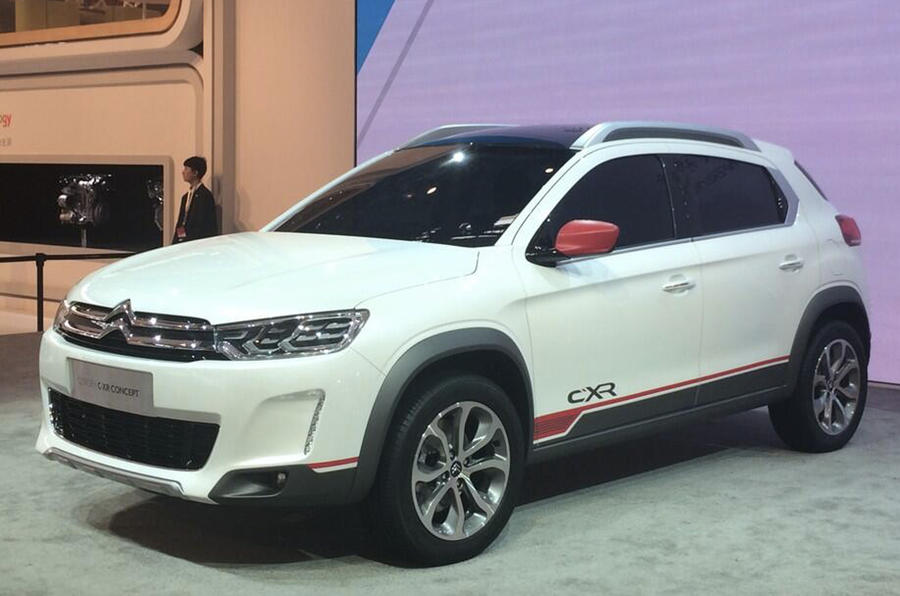 Citroen shows off Peugeot 2008 rival with new C-XR concept