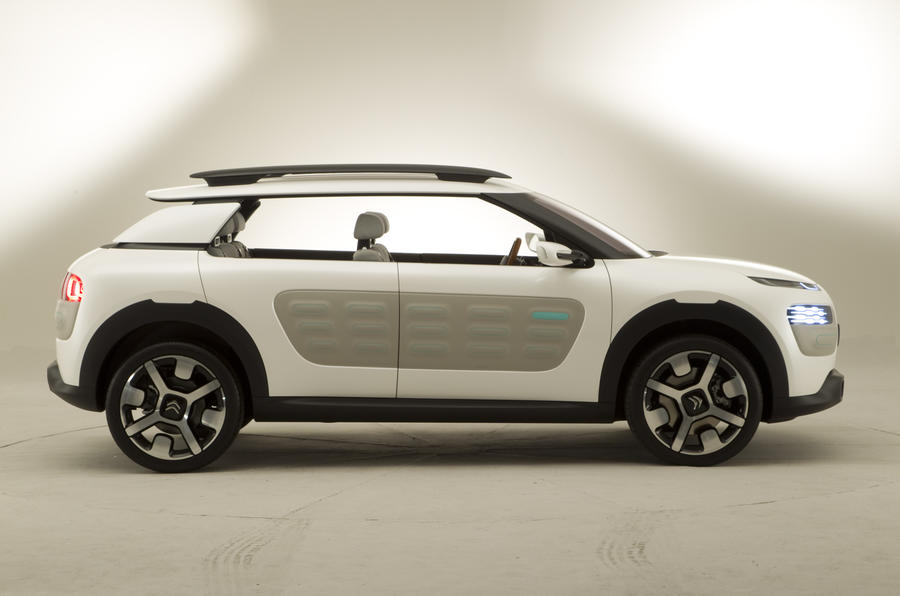 Citroen C4 Cactus revealed - exclusive studio photos