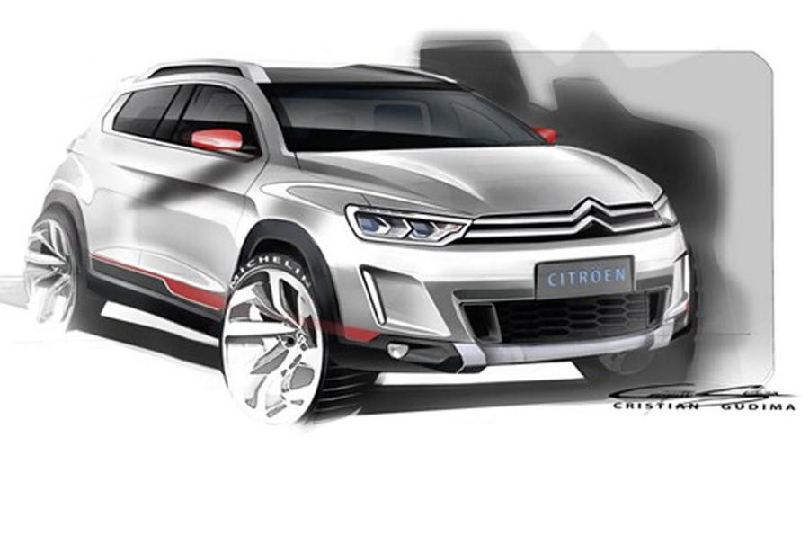 New Citroen crossover concept leaked